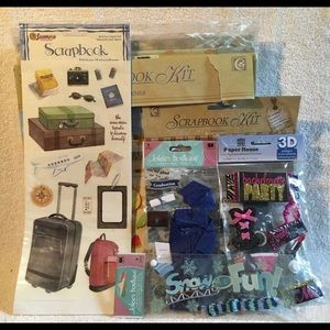 New Huge Bundle of Scrapbook items!